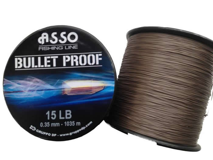 Asso Bulletproof 0,33mm 1205m hneda