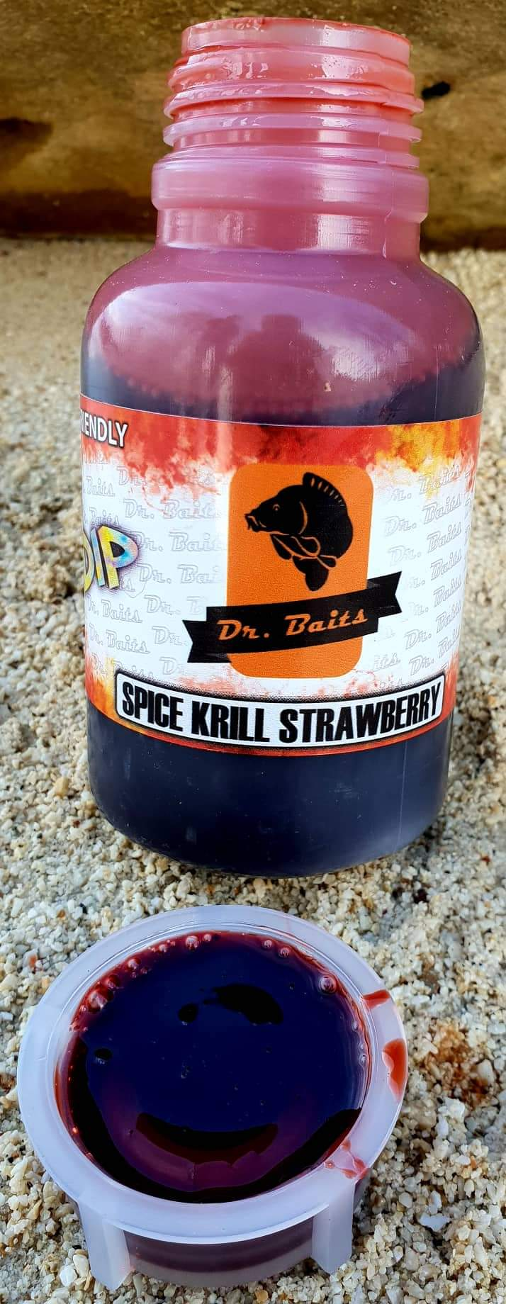 Spice krill strawberry DIP