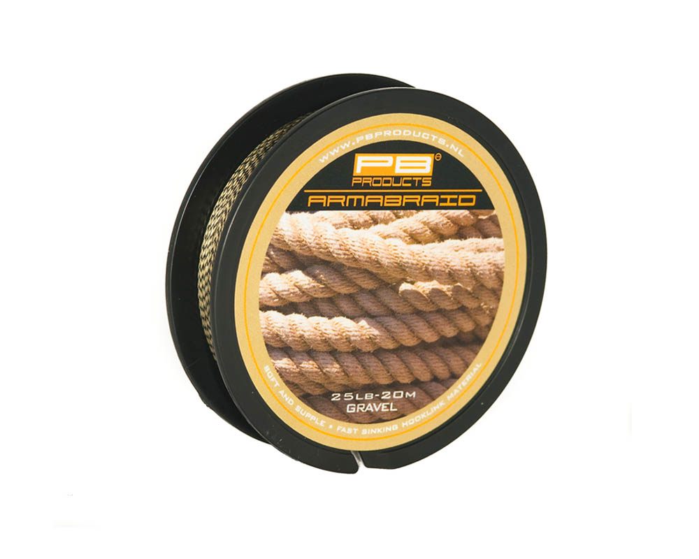 PB PRODUCTS ARMABRAID GRAVEL 15lbs/25lbs
