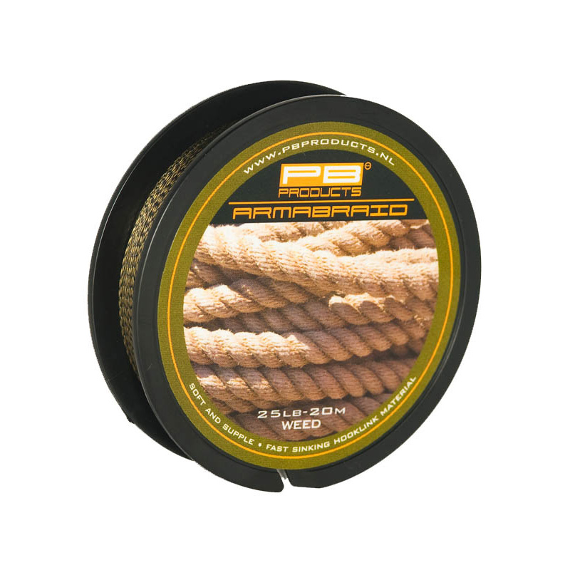 PB PRODUCTS ARMABRAID WEED 15lbs/25lbs