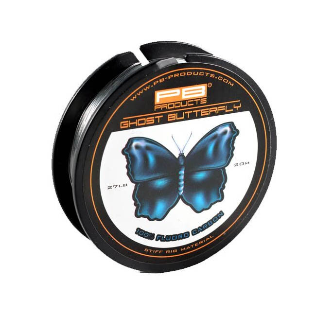 PB Products Ghost Butterfly Fluorocarbon 27lb-20m